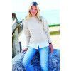 Womens Boat-Neck Jumper Knitting Pattern
