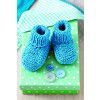 Baby Booties With Roll Top Knitting Pattern