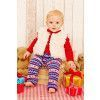 Baby Jumper, Leggings And Waistcoat Knitting Patterns
