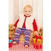 Baby Jumper, Leggings And Waistcoat Knitting Patterns