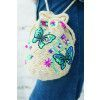 Butterfly Duffel Bag Knitting Pattern