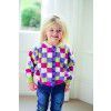 Colour Block Cardi Pattern
