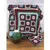 The Christmas Folk Blanket Pattern