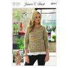 Sweaters in James C. Brett Stonewash DK (JB414)