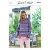 Sweater in James C. Brett Marble Chunky (JB437)