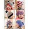 Hats in King Cole Fashion Aran, Comfort Aran and Big Value Aran (3700)