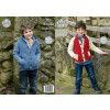 Jacket and Hoodie in King Cole Majestic DK (4924)