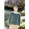 Jumper in Sirdar Alpine and Country Classic DK (10059)