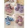 Bootes, Shoes and Boots in Sirdar Snuggly Baby Crofter DK (1483)