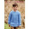 Sweater in Hayfield Bonus Aran (2506)