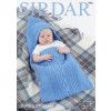 Baby's Sleeping Bag in Sirdar Supersoft Aran (4901)