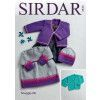 Dress, Cardigans and Hats in Sirdar Snuggly DK (4946)
