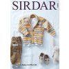 Cardigan in Sirdar Snuggly Baby Crofter DK (5293)