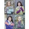 Mittens and Wrist Warmers in Hayfield Aran with Wool (7125)
