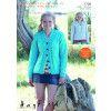 Sweater and Cardigan in Hayfield Bonus Aran Tweed (7709)