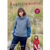 Sweater Hayfield Bonus Aran and Hayfield Bonus Aran Tweed (8233)