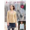 Sweater Hayfield Bonus Aran and Hayfield Bonus Aran Tweed (8234)
