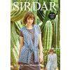Cardigan and Waistcoat in Sirdar No.1 Aran Stonewashed (8273)