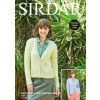 Cardigans in Sirdar No.1 Aran Stonewashed (8275)