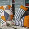 Cushion Covers in Alpaca Tweed DK and Chunky (9458)
