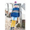 Sweater, Scarf and Hat in Stylecraft Bellissima DK (9705)