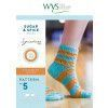 Sugar and Spice Socks in West Yorkshire Spinners Signature 4 Ply Pattern