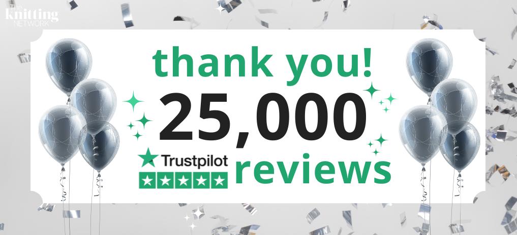 We're Celebrating! 25,000 Trustpilot Reviews!