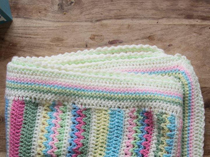 Sweetpea Blanket Cal Part Five The Knitting Network