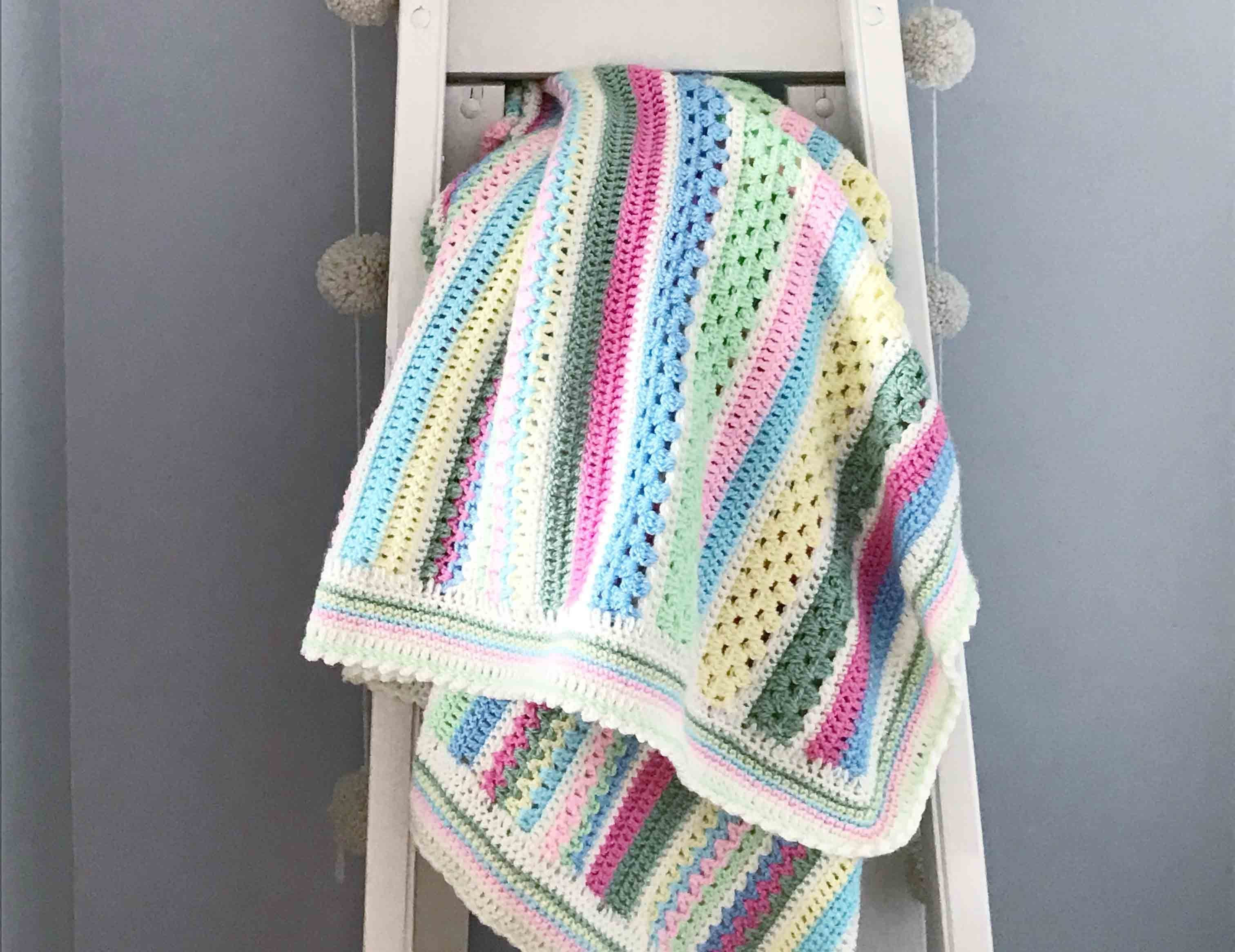 Sweetpea Blanket Crochet Along