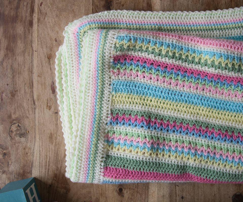 Sweetpea Blanket CAL Part One