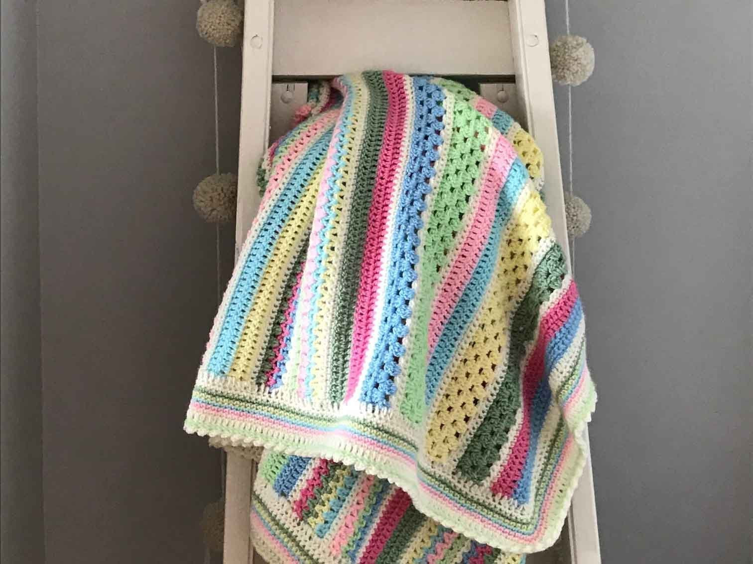 Sweetpea Blanket  CAL Part Two