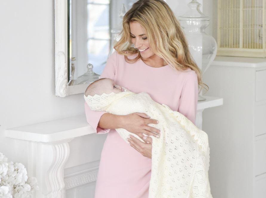 A Royal Baby Shawl To Knit