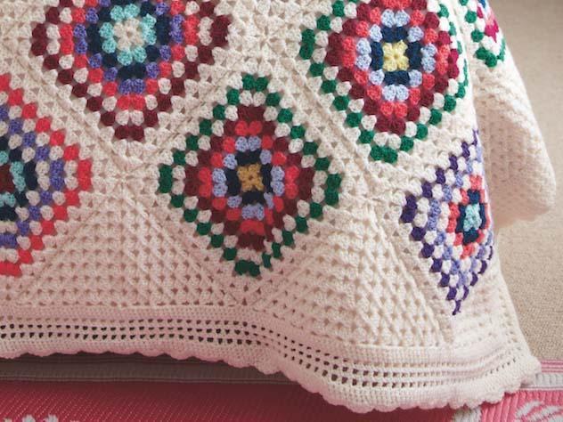 Grandmother's Footsteps Blanket CAL Part Four