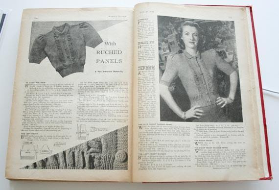 How To Knit: Reworking vintage knitting patterns