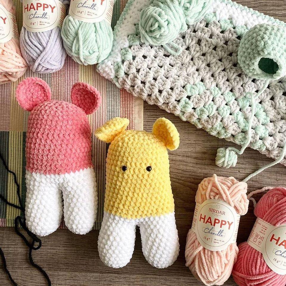 45 DIY Crochet Animal Craft Ideas: Free Amigurumi Patterns | 960x960