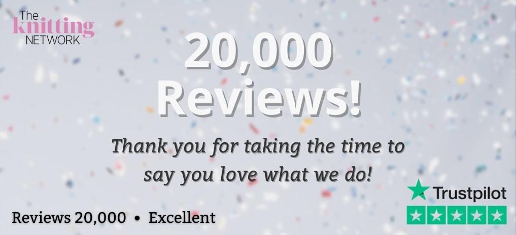 We're celebrating 20,000 Trustpilot reviews!