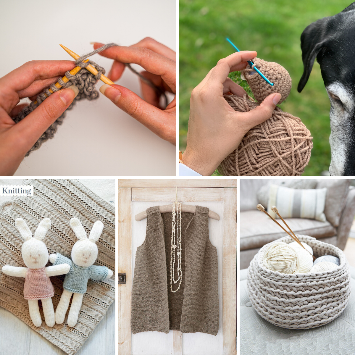Knitting & Crocheting: the health and wellbeing benefits
