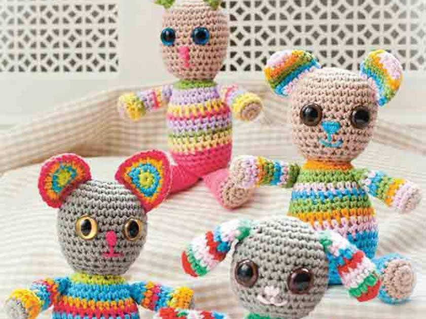 Stay at home and crochet - 4 amigurumi patterns | lilleliis | 630x840