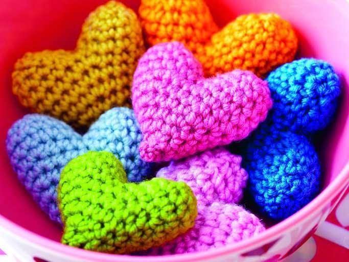 Crochet Hearts And More - Our Best Valentine's Day Makes