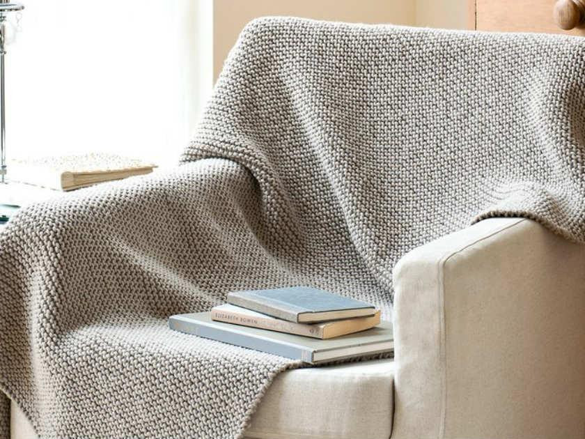 Blanket knitting patterns: Baby and home throws