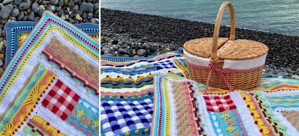 Picnic on the Beach Crochet Along