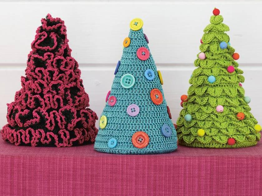 Christmas Tree Knitting And Crochet Patterns The Knitting Network