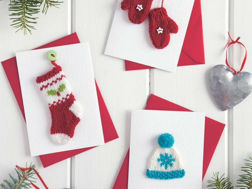 Christmas cards to make your family and friends
