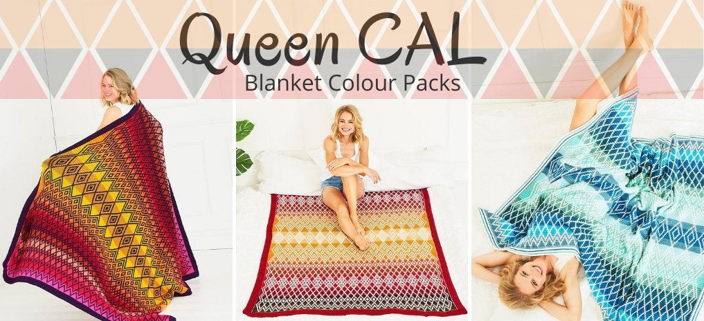 Queen Blanket Crochet Along (CAL)