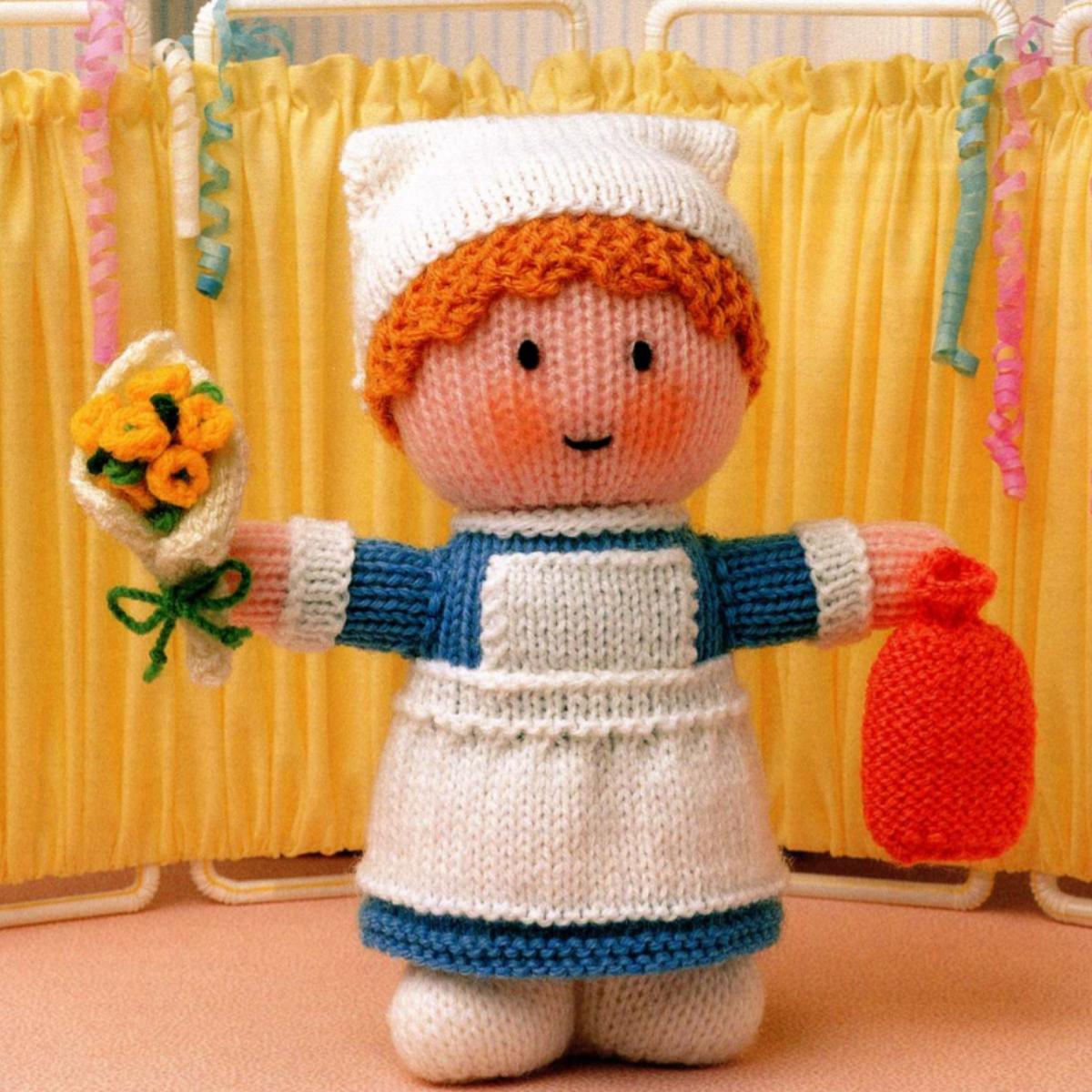 Free Nurse Knitting Pattern