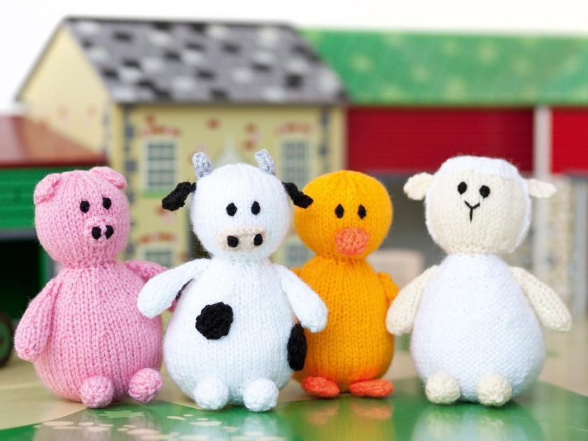 How To Knit Toys: Sewing up knitted toys