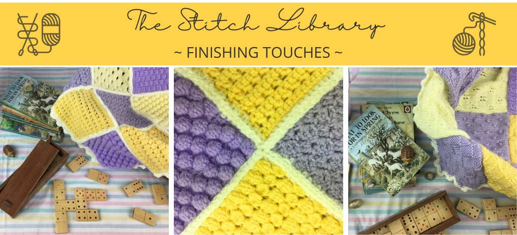 Stitch Library Doll's Blanket - The Final Touches