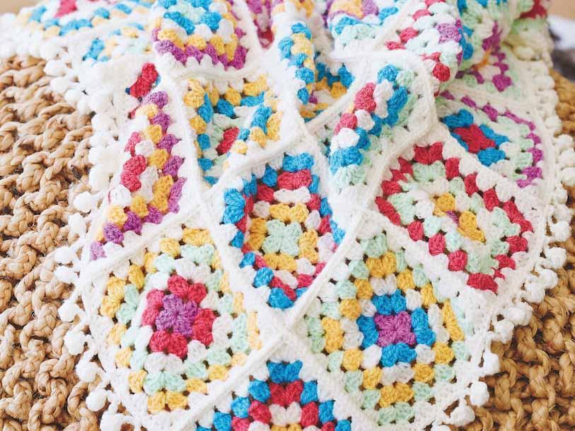 Folk Blanket Crochet a Long