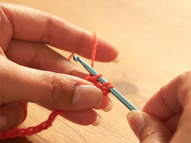 How to crochet: Half-treble stitch