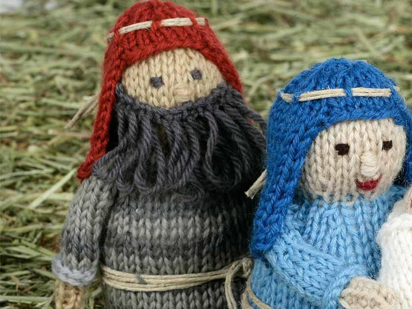 Nativity KAL - second instalment - Joseph